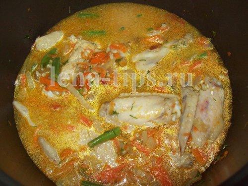 Каша рисовая с овощами