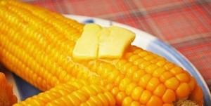 Вкусная вареная кукуруза