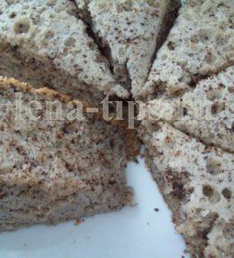Кекс с шоколадной крошкой в мультиварке фото-рецепт