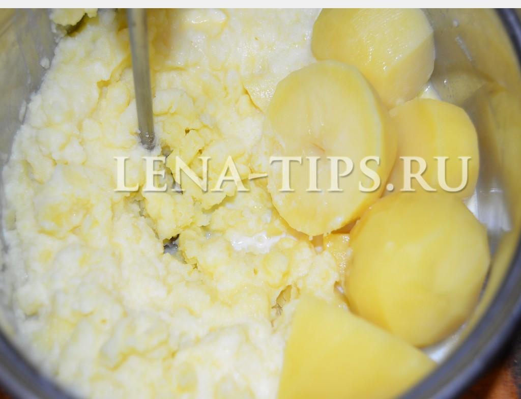 Толчем картофель